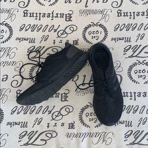 Black Adidas Airfoam